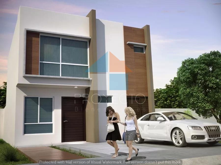 Casa con estilo Contemporaneo 3 recamaras Natura II