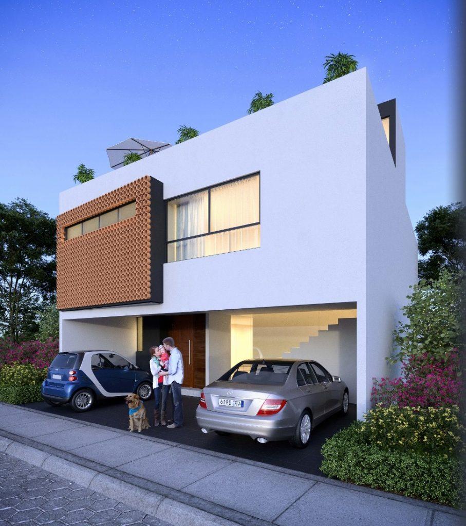 Venta casa con 3 recamaras 250m2 construccion Parque Nayarit