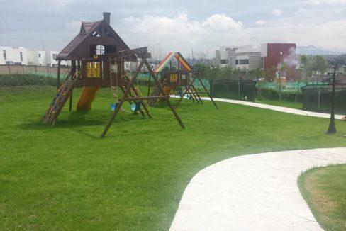 Casa Parque Hidalgo acabados de lujo juegos infantiles