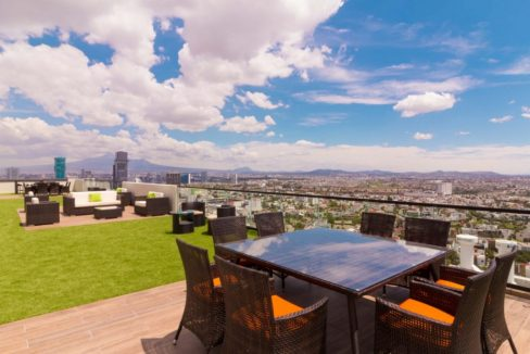 Venta departamento de lujo con 2 recamaras terraza Torre Blank entrada Norte Lomas de Angelópolis 20