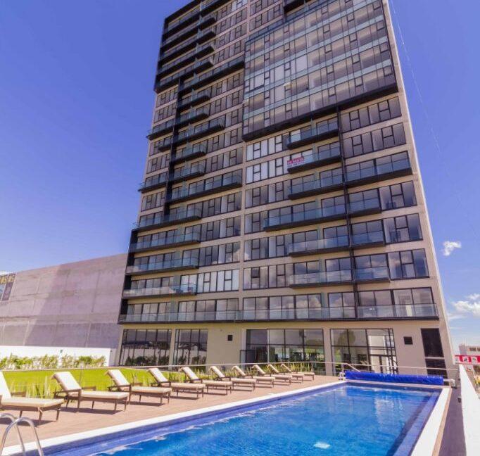 Venta departamento de lujo con 2 recamaras terraza Torre Blank entrada Norte Lomas de Angelópolis 5