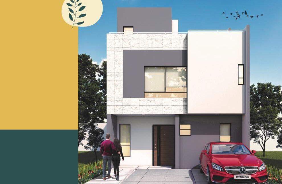Casa en venta 3 recamaras Modelo Tenerife Altaria Residencial Lomas de Angelopolis Puebla 2