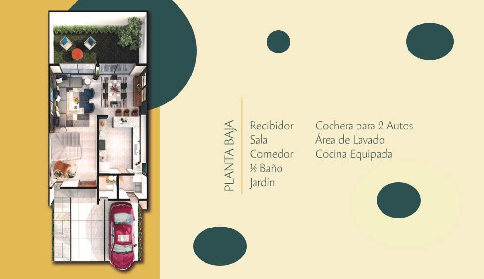 Casa en venta 3 recamaras Modelo Tenerife Altaria Residencial Lomas de Angelopolis Puebla 3