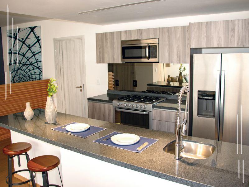 Renta departamento 1 recamara amueblado Alpha Residences Sonata Lomas de Angelopolis Puebla 7