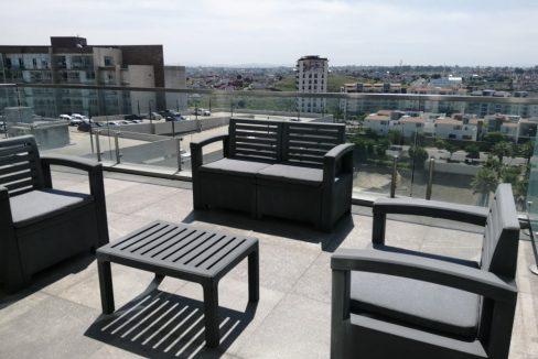 Renta oficina amueblada con terraza Corporativo Angelopolis Lomas de Angelopolis 10