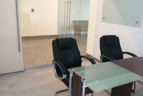 Renta oficina amueblada con terraza Corporativo Angelopolis Lomas de Angelopolis 4