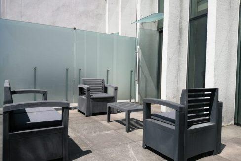 Renta oficina amueblada con terraza Corporativo Angelopolis Lomas de Angelopolis 7