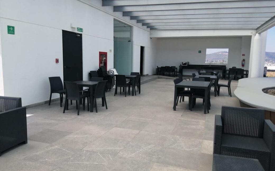 Renta oficina amueblada con terraza Corporativo Angelopolis Lomas de Angelopolis 9